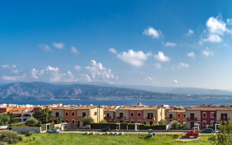 Parco Pelorias Ville con giardino con affaccio sul mare panoramiche