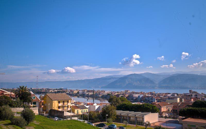 Parco Pelorias Ville con giardino con affaccio sul mare panoramiche Ganzirri